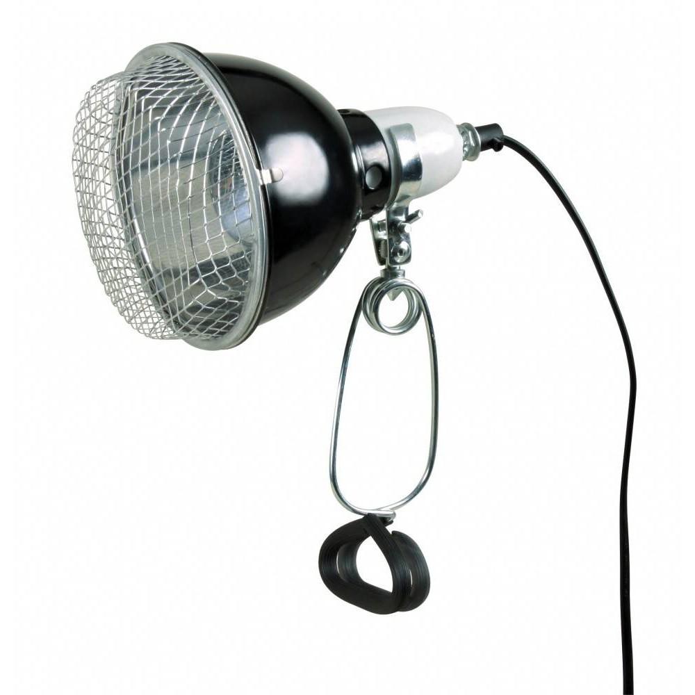 Porte lampe à pince avec reflecteur