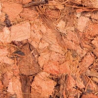 Chips de coco brique