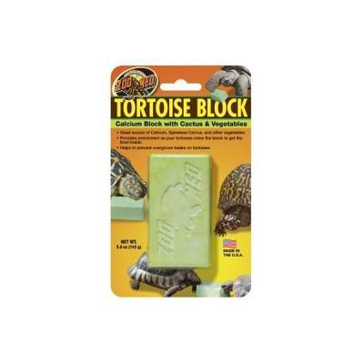 Bloc Calcium aromatisé au cactus pour tortue de terre