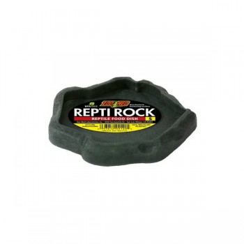 """Gamelle plate """"spéciale tortue"""" ReptiRock Zoomed"""