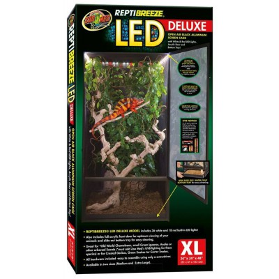 Cage Reptibreeze LED Deluxe