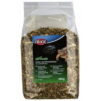 Graminées et herbes séchées pour tortues TRIXIE