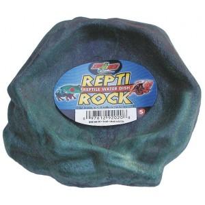 Gamelle d'eau imitation roche - Zoomed