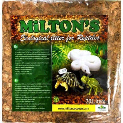 Chips de coco Milton 20 litres