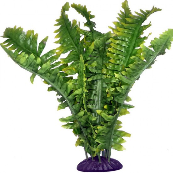 "Fougère en plastique ""Boston Fern"" Komodo"