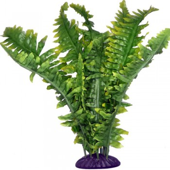 "Fougére en plastique ""Boston Fern"" Komodo"