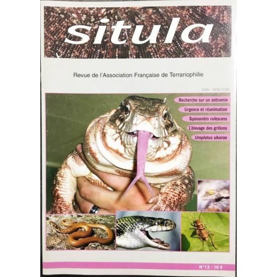 Situla n°12 - Tegu rouge, élevage des grillons, Uroplatus, ...