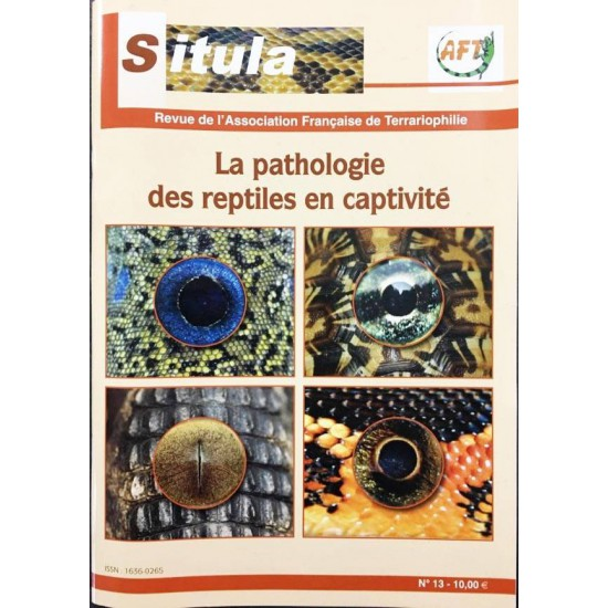 Situla n°13 - Pathologies des reptiles en captivité