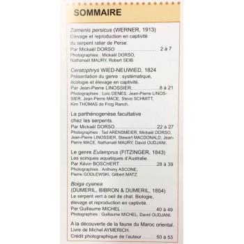 Situla n°22 - Les Ceratophrys (grenouille Pacman), Boiga cyanea,...
