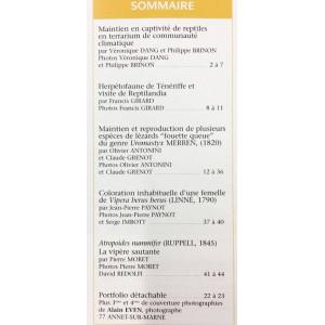 Situla n°7 - Uromastyx, terrarium communautaire, vipères,...