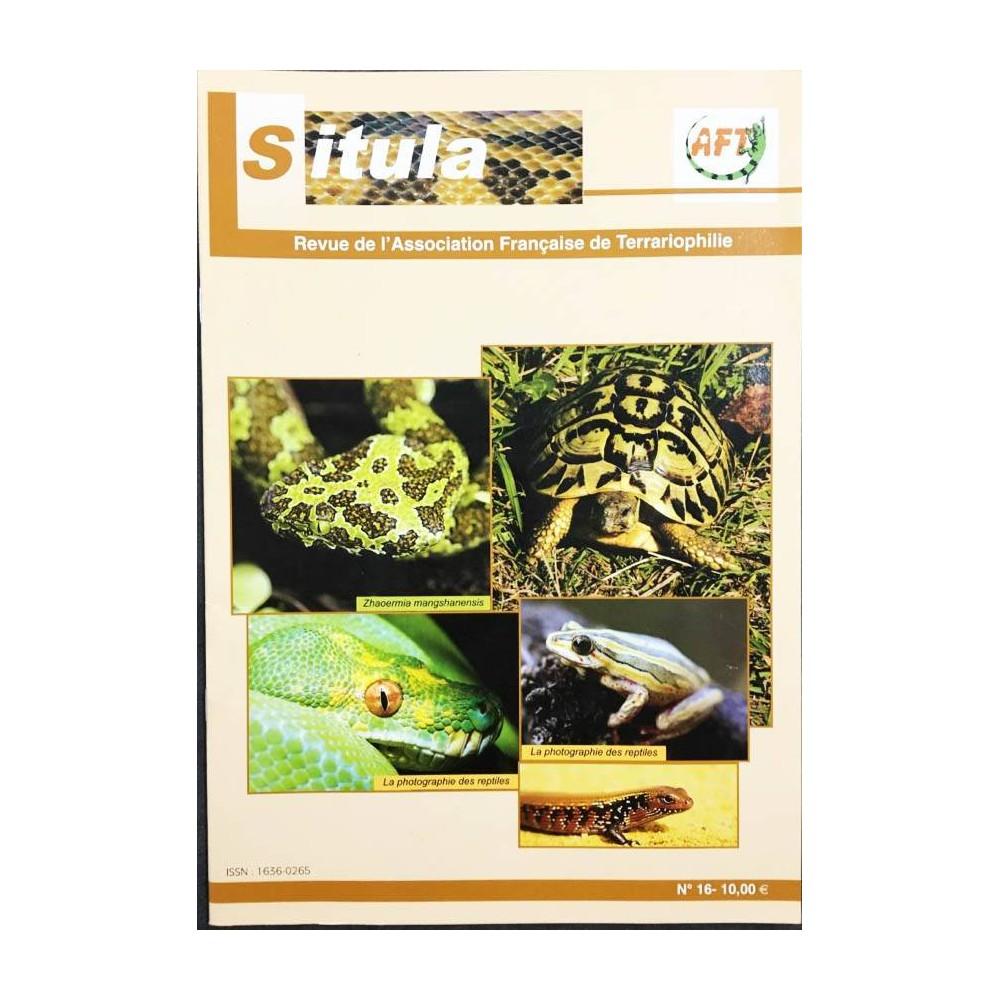Situla n°16 - Photographier des reptiles, hibernation des tortues, voyage,...