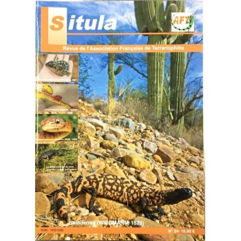 Situla n°24 - le prolapsus chez les reptiles, Heloderma,...