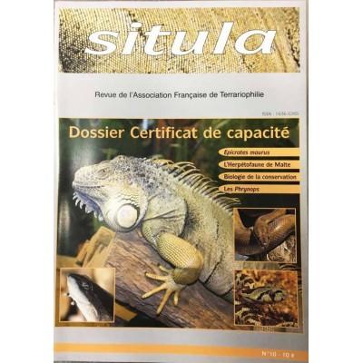 Situla n°10 - Le Certificat de Capacité, epicrates, biologie de conservation,...