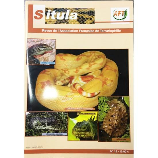 Situla n°15 - l'albinisme, Varanus yuwonoi, reptiles et amphibiens de La Réunion,...