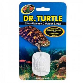 Bloc Calcium Tortue aquatique Dr Turtle Zoomed