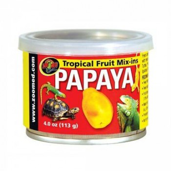 Gelée pour frugivores (lézards, tortues) Papaye-Banane-Mangue  Zoomed