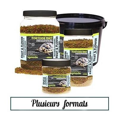 Granulés tortue de terre Tortoise Diet Fruits et fleurs - Komodo