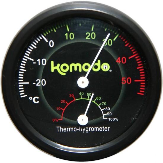 Duo thermomètre et hygromètre analogique KOMODO