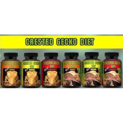 "Nourriture Gecko à crête ""Crested Gecko Diet"" Habistat"