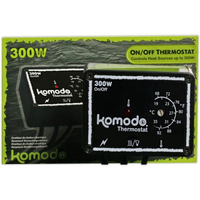 Thermostat ON/OFF 100W KOMODO