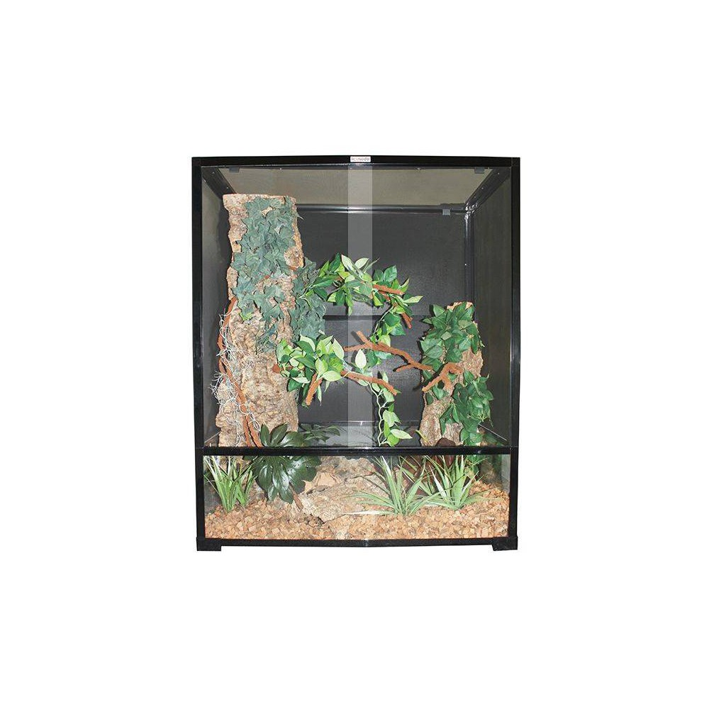 terrarium pour cam l on en verre et grillage. Black Bedroom Furniture Sets. Home Design Ideas