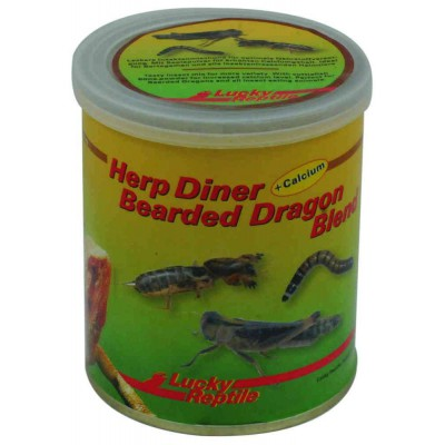 "Insectes en boite ""Herp Diner Bearded Dragon Blend"""