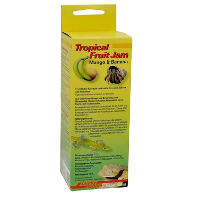 Purée de fruit Mangue/Banane Tropical Fruit Jam - Lucky Reptile
