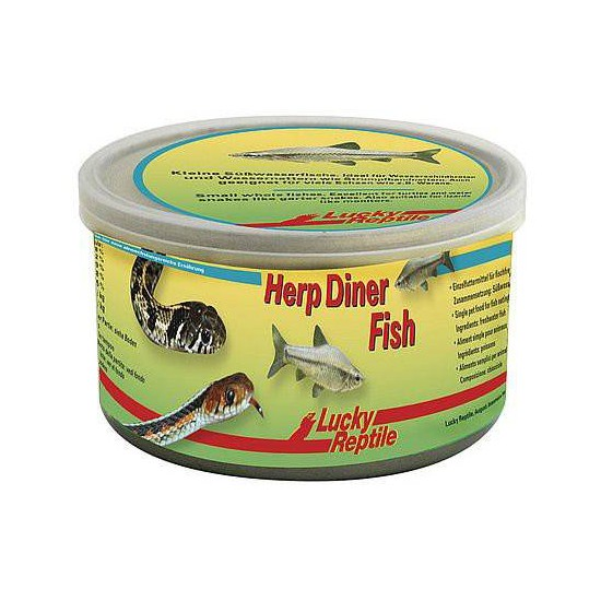 "Petits poissons en conserve ""Herp Diner Fish"" Lucky Reptile"