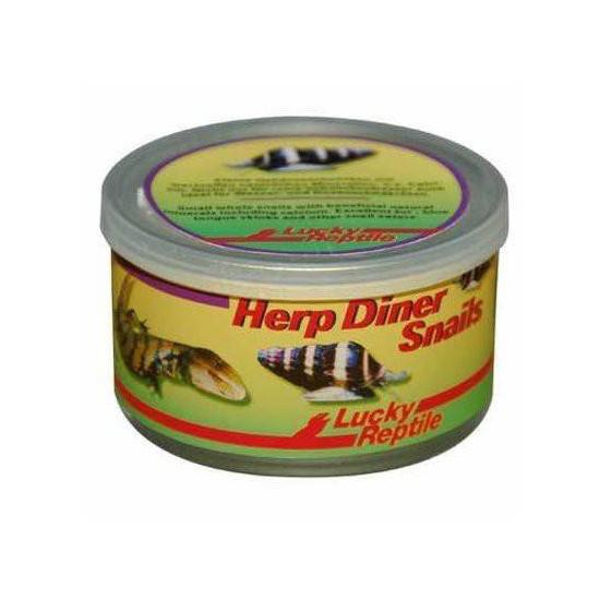 "Escargot en conserve avec coquille ""Herp Diner Snails"" Lucky Reptile"
