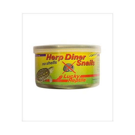 """Escargot en conserve sans coquille """"Herp Diner No shell"""" Lucky reptile"""