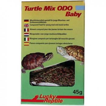 """Granulés pour tortues de marécage (Sternotherus) - """"Turtle Mix ODO baby"""" Lucky Reptile"""
