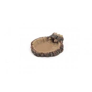 Gamelle imitation tronc d'arbre Terratlantis