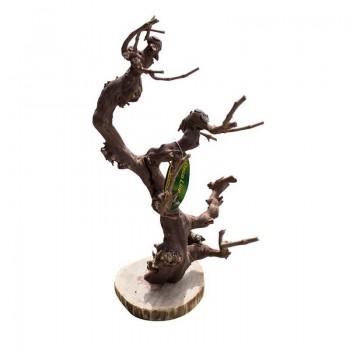 Branche de vigne sur socle Lucky Reptile