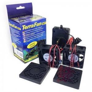KIT complet transformateur + 2 ventilateurs Terra Fan Lucky Reptile