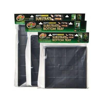 Fond en plastique pour terrarium grillagé Reptibreeze ZOOMED
