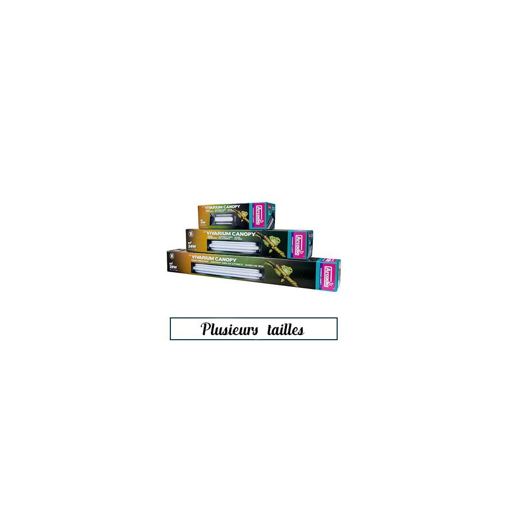 """Rampe + tube UVB """"Vivarium canopy"""" - Arcadia"""