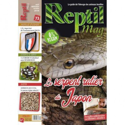 Reptilmag N°73 , Elaphe climacophora, l'hibernaton des tortues...