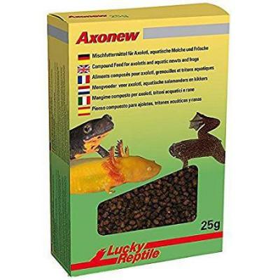 Granulés pour Axolotl, grenouilles et trtons aquatiques. AxoNew Lucky Reptile