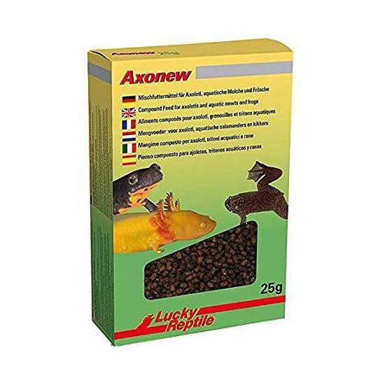 Granulés pour Axololt, grenouilles et tritons aquatiques. AxoNew Lucky Reptile