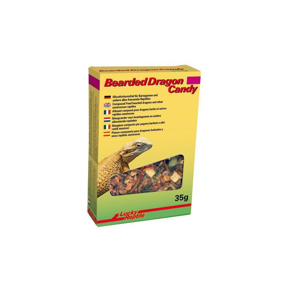 "Friandise pour Pogona ""Bearded Dragon Candy"" Lucky Reptile"