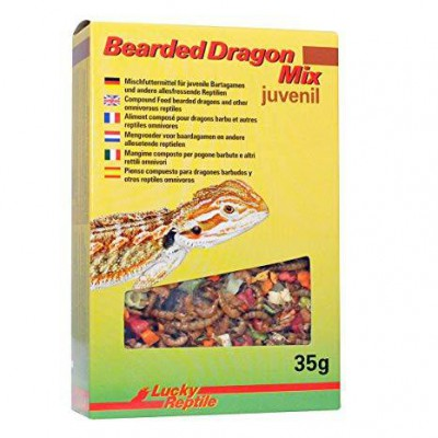 "Aliment sec pour Pogona juvénile ""Bearded dragon Mix  juvenil"" Lucky reptile"