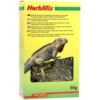 """Mélange d'herbes pour tortues, pogonas, iguanes """"Herb Mix"""" Lucky Reptile"""