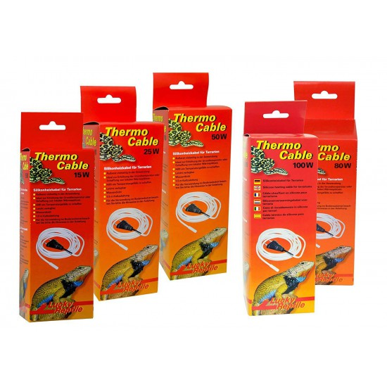 """Cable chauffant en silicone """"Thermo Cable"""" Lucky Reptile"""
