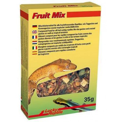 "Mélange de fruits pour geckos frugivores ""Fruit mix"" Lucky reptile"