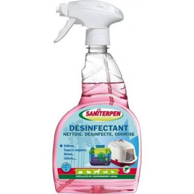 Désinfectant et désodorisant pour Terrarium en Spray SANITERPEN
