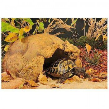 "Grande cachette pour tortue terrestre ou gros reptile ""Tortoise cave"" - EXO TERRA"