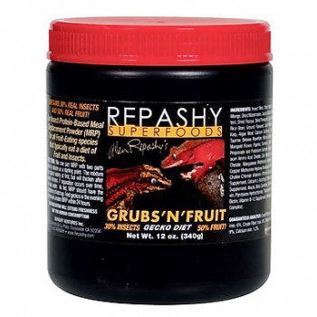 Nourriture en poudre Grub's N'Fruit Repashy