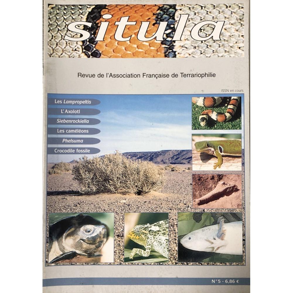 Situla n°5 - Les Lampropeltis, L'Axolotl, les caméléons, Phelsuma, ...