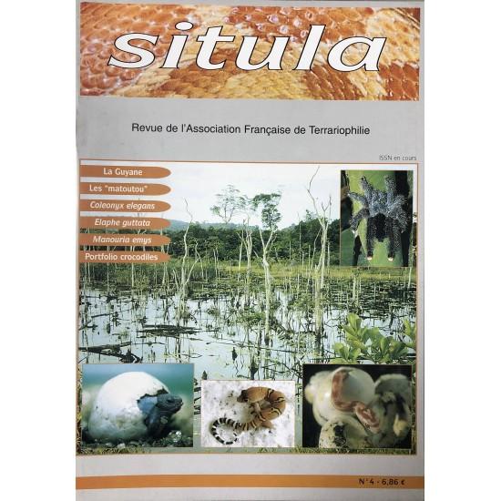 Situla n°4 - La Guyane, Coleonyx elegans, Pantherophis guttatus, ...