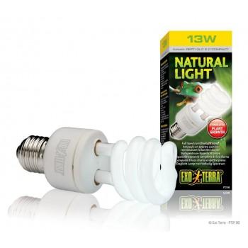 """Ampoule UVA lumière du jour """"Naturel light"""" 13W - Exo Terra"""